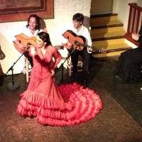Photo taken at El Tablao de Carmen by Huang D. on 2/25/2014