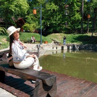 Photo taken at Japanski vrt by Andrijana B. on 7/8/2015