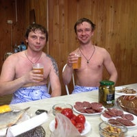 Photo taken at Русская баня by Игорь R. on 4/28/2014