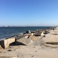 Photo taken at Breezy Point Beach by Jed S. on 6/6/2016