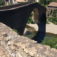 Photo taken at Olargues by Yulia B. on 6/24/2015
