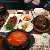 Photo taken at 청담순두부 by Bumjoon S. on 4/22/2013