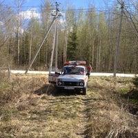 Photo taken at 101 км СНТ Лесное by Юрий П. on 4/30/2014