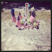 Photo taken at Dunedin Cemetery by Morgan M. on 4/10/2013