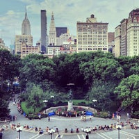 Photo taken at Union Square Park by benjamin b. on 7/14/2013