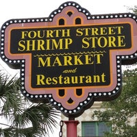 Photo taken at Fourth Street Shrimp Store by Anthony S. on 4/14/2013