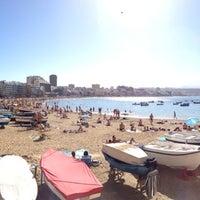 Photo taken at Playa Grande by Kar A. on 12/29/2012