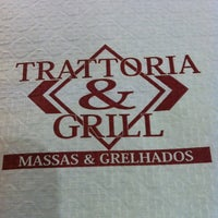 Photo taken at Trattoria & Grill by Patrícia A. on 2/11/2013