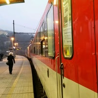 Photo taken at EC • Hamburg - Berlin - Dresden - Praha by Karel M. on 12/30/2016