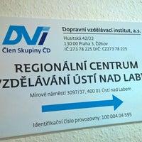 Photo taken at DVI - Dopravní vzdělávací institut by Karel M. on 2/3/2016