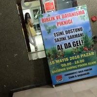 Photo taken at Cumhuriyet Halk Partisi İzmir İl Başkanlığı by Nimet A. on 5/12/2016
