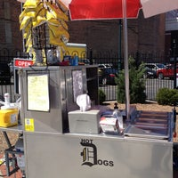 Photo taken at DOH HOT DOG CART by Jason W. on 5/1/2013