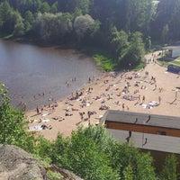 Снимок сделан в Pikkukosken uimaranta пользователем Kristian L. 6/5/2013