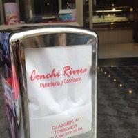 Photo taken at Panaderia Y Confiteria Conchi Rivera by Cristina G. on 10/23/2013