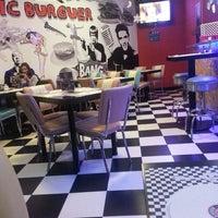 Photo taken at American Music Burger by António N. on 1/2/2015