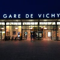 Photo taken at Gare SNCF de Vichy by Batuhan Y. on 7/27/2013