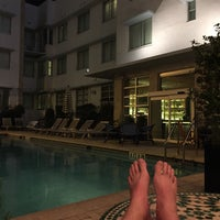 Photo taken at Circa 39 Hotel @ The Pool by pieter v. on 10/23/2015