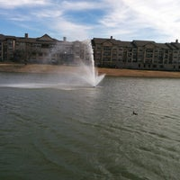 Photo taken at Carrollton Public Library - Josey Ranch Lake by Stephen G. on 2/15/2014