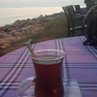 Photo taken at Yakamoz Cafe by Havva A. on 8/24/2014