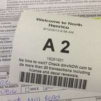 Photo taken at Department of Motor Vehicles by Laura S. on 9/10/2013