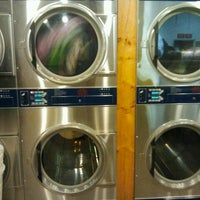 Photo taken at 75 Broadway Laundromat by Jennifer G. on 12/18/2012