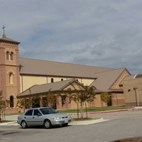 Photo taken at Mary Queen Catholic Church by Maribel A. on 11/5/2013