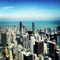 Photo taken at Skydeck Chicago by Darren B. on 4/14/2013