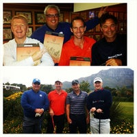 Photo taken at Stellenbosch Golf Club by Louis D. on 9/24/2014