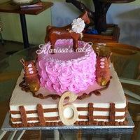 Photo taken at Marissa's cake by Marissa's C. on 7/24/2015