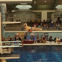Photo taken at University Aquatic Center by Kelly B. on 12/2/2016