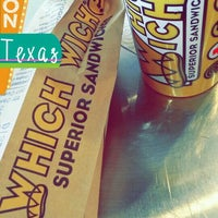 Photo taken at Which Wich? Superior Sandwiches by Kira H. on 10/23/2016