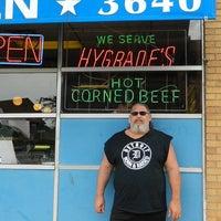 Photo taken at Hygrade Restaurant & Deli by Al P. on 7/26/2014