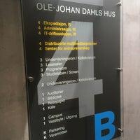Photo taken at Ole-Johan Dahls hus by Morten Werner F. on 5/22/2018