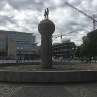 Photo taken at Christian Frederiks plass by Morten Werner F. on 7/3/2017