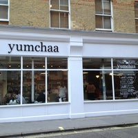 Photo taken at Yumchaa by Fei X. on 9/6/2013