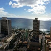 Photo taken at Hilton Waikiki Beach by Birk E. on 2/7/2013