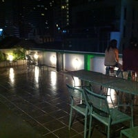 Photo taken at WE Bangkok Hostel by Justine L. on 9/6/2013