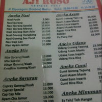 Photo taken at Aji Roso Chinese Food by Agus W. on 3/31/2013