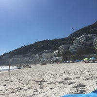 Photo taken at Clifton 2nd Beach by Celien R. on 4/10/2016
