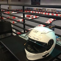 Photo taken at K1 Speed Anaheim by Andrew S. on 1/12/2013