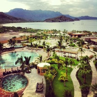 Photo taken at Villa Del Palmar Beach Resort & Spa by Ben L. on 9/7/2013