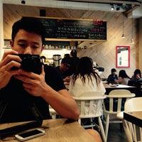 Photo taken at handwich + CAFE 漢明治 by Serina C. on 11/16/2014