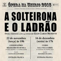 11/14/2016에 Diego C.님이 Conservatório Brasileiro de Música에서 찍은 사진