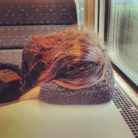 Photo taken at Trein Hasselt > Antwerpen by Wouter d. on 1/4/2014