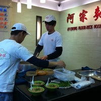 Photo taken at Ay-Chung Flour-Rice Noodle by Esther C. on 3/25/2012