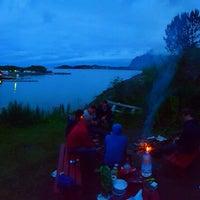 Photo taken at Ørsvågvær Camping by Brecht S. on 8/1/2015