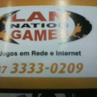 Photo taken at Lan nation games by Ana Paula B. on 9/3/2013