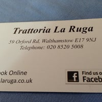 Photo taken at Trattoria La Ruga by Helen H. on 3/29/2014