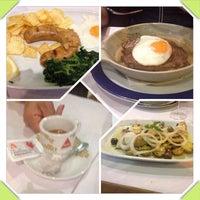 Photo taken at Restaurante Alfassador by Lina M. on 7/9/2014