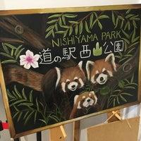 Photo taken at 道の駅 西山公園 by madoromi on 4/8/2017